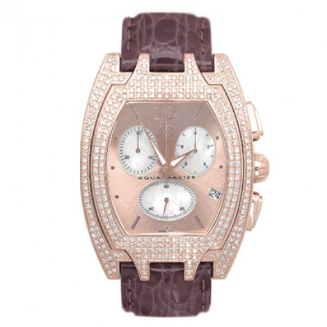 Aqua Master Iced Out Watches Mens Diamond Watch 4.00ct Aqua Master Iced Out Watches Mens Diamond Watch 4.00ct