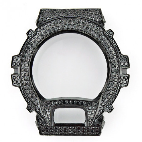Black G-Shock Bezel Iced Out with Crystals  black-g-shock-bezel-iced-out-with-crystals_1