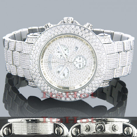 Hip Hop Watches: Joe Rodeo Junior Fully Iced Out Diamond Watch 21ct Main Image
