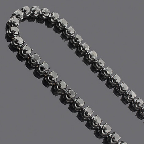 Iced Out Jewelry: Men's 10K Black Diamond Chain 140.55 Main Image