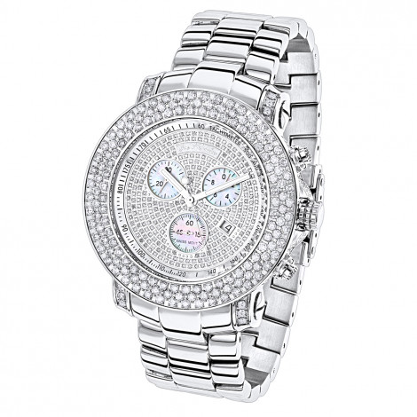 Large Iced Out Watches Joe Rodeo Diamond Watch for Men 9ct Junior Main Image