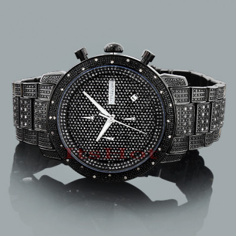 Mens Diamond Watch by JoJino Watches Collection 1.05ct Black Main Image