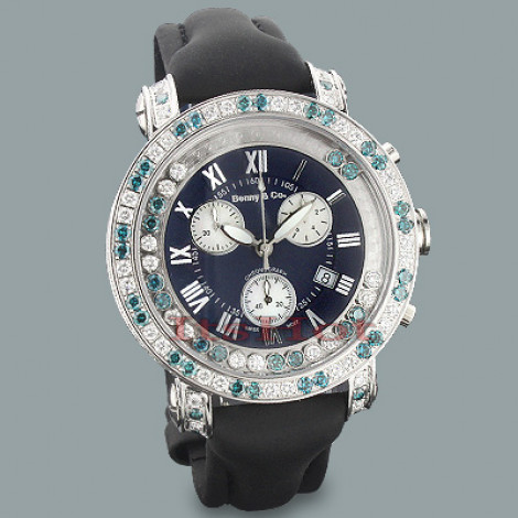 Mens Luxury Watches: Benny and Co Floating Diamond Watch 7.50ct  Main Image