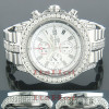 Breitling Super Avenger Mens Chronograph Diamond Watch 12.00 ctw