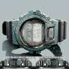 Custom Casio Watches: Blue Diamond G-Shock Watch 5.25ct