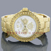 Ice Time Watches Mens Diamond Watch 0.25ct