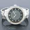 Mens Watches Super Techno Mens Diamond Watch 0.12 ct