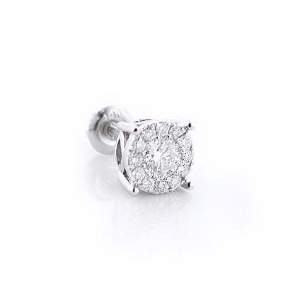 single earring studs cut diamond wholesale princess prices s earrings men stud at mens
