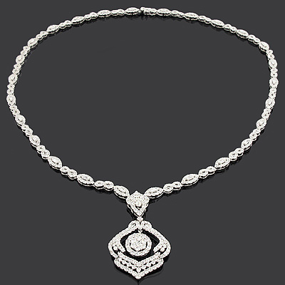 Designer Diamond Necklaces: Luccello Jewelry Piece 11.14ct 18K designer-diamond-necklaces-luccello-jewelry-piece-1114ct-18k_1