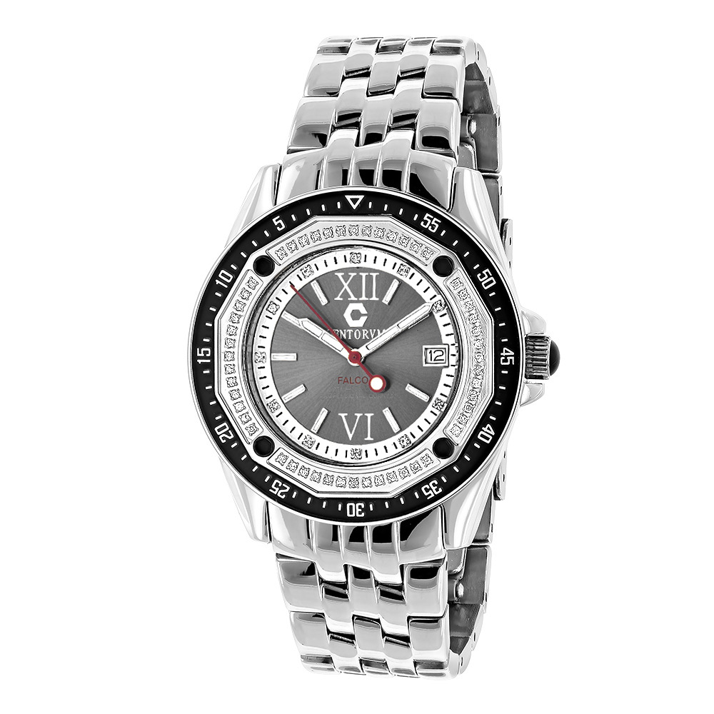 Designer Watches: Centorum Diamond Watch 0.50ct Midsize Falcon