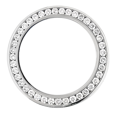 Diamond Bezel for Breitling Super Avenger 7ct Custom Made Watch Bezels