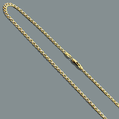 "Diamond Cut Curb Chain Necklace in 14K Gold 3.5mm 22"" diamond-cut-curb-chain-necklace-in-14k-gold-35mm-22_1"
