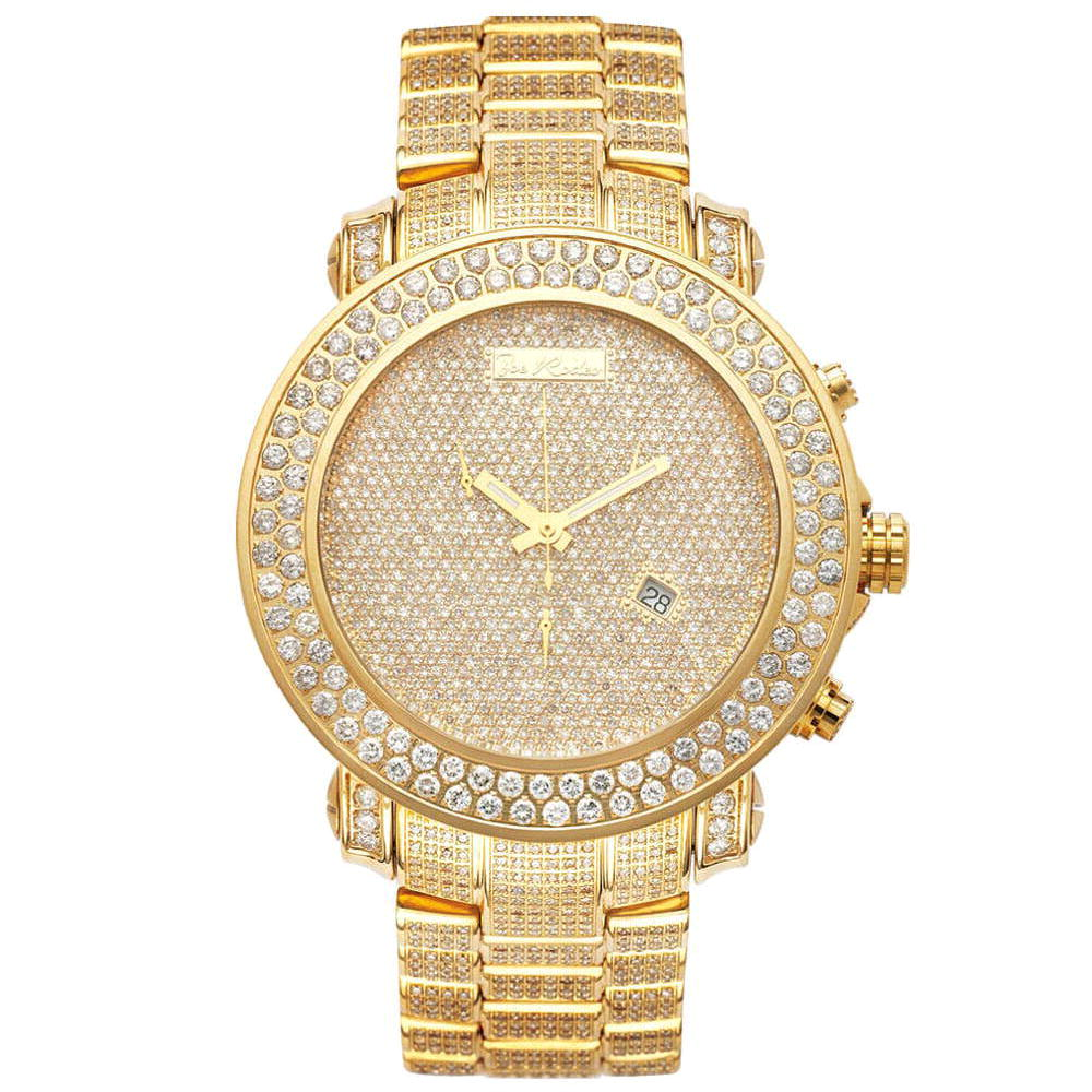 Diamond Encrusted Watches: Joe Rodeo Junior Mens Watch 23.90ct Main Image