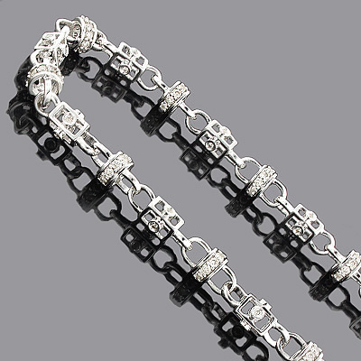 Diamond Hip Hop Chain 14K Gold 11.00ct Main Image