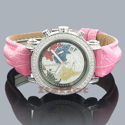 Diamond Ladies Watch 0.60ct Joe Rodeo Passion Map Main Image