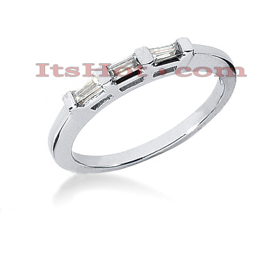 Ultra Thin Diamond Platinum Engagement Band 0.21ct Main Image