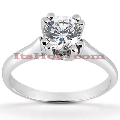 Diamond Platinum Engagement Ring 1.03ct Main Image