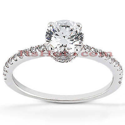 Diamond Platinum Engagement Ring 1.39ct Main Image