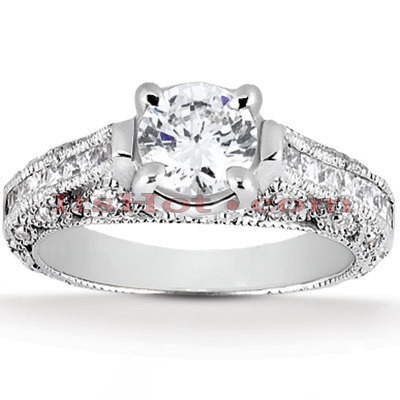 Diamond Platinum Engagement Ring 1.69ct Main Image