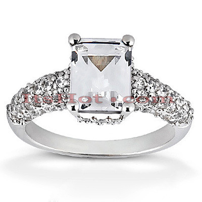 Diamond Platinum Engagement Ring 1.72ct Diamond Platinum Engagement Ring 1.72ct