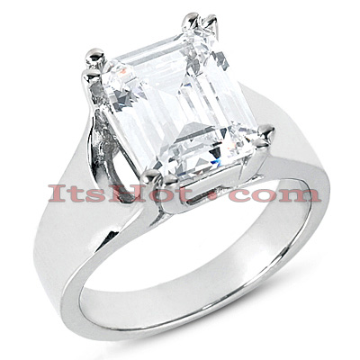 Diamond Platinum Engagement Ring 1ct Diamond Platinum Engagement Ring 1ct