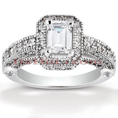 Diamond Platinum Engagement Ring 2.05ct Main Image