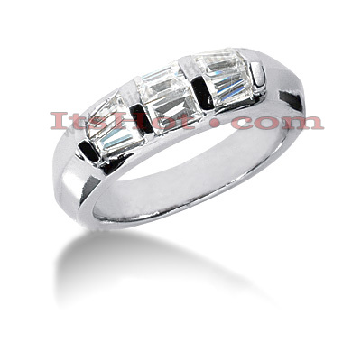 Diamond Platinum Engagement Wedding Ring 0.82ct Diamond Platinum Engagement Wedding Ring 0.82ct