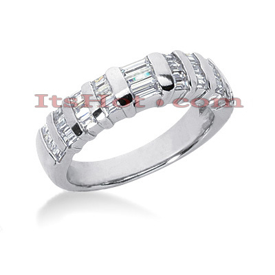 Diamond Platinum Engagement Wedding Ring 0.90ct Main Image