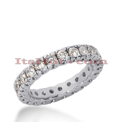 Diamond Platinum Eternity Band 0.37ct Main Image