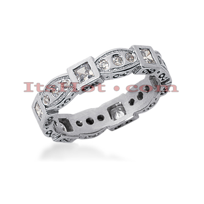 Diamond Platinum Eternity Band 0.81ct Main Image