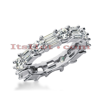 Diamond Platinum Eternity Band 2.96ct Diamond Platinum Eternity Band 2.96ct