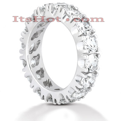 Diamond Platinum Eternity Band 4ct Main Image