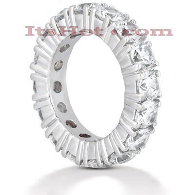 Diamond Platinum Eternity Band 5.60ct Main Image
