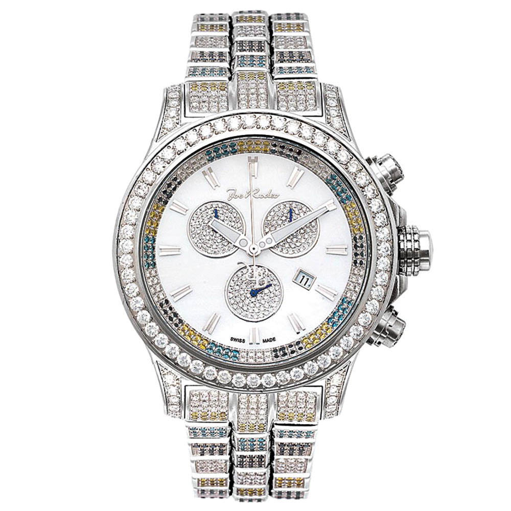 Fully Paved Mens Joe Rodeo Diamond Watch 26.70ct Main Image