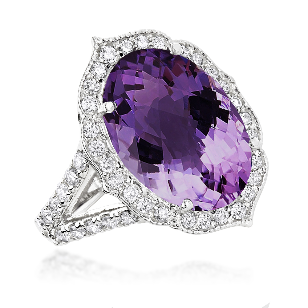engagement ct vine rings diamond inspired ring white nature p product gold rose amethyst