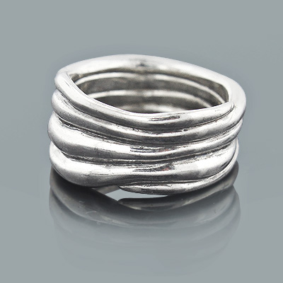 Handcrafted Silver Jewelry: Designer Ring