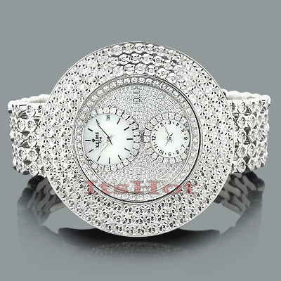 Hip Hop Watches: Ice time Mens Diamond Watch 2.00ct Main Image