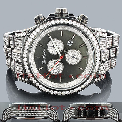 Hip Hop Watches: Joe Rodeo Mens Diamond Watch 26.70 Main Image