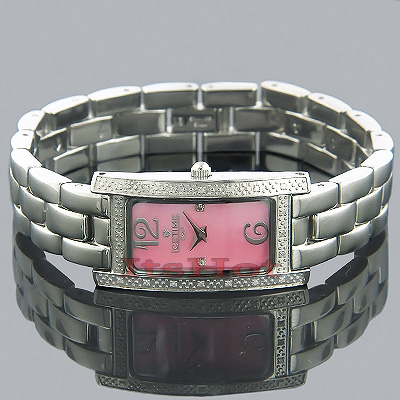 Ice Time Ladies Watches Womens Pearl Diamond Watch