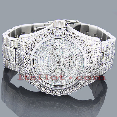 Ice Time Mens Diamond Watch 0.25ct Main Image
