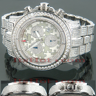 Iced Out Watches Joe Rodeo Master Piece Puzzle 24ct Main Image