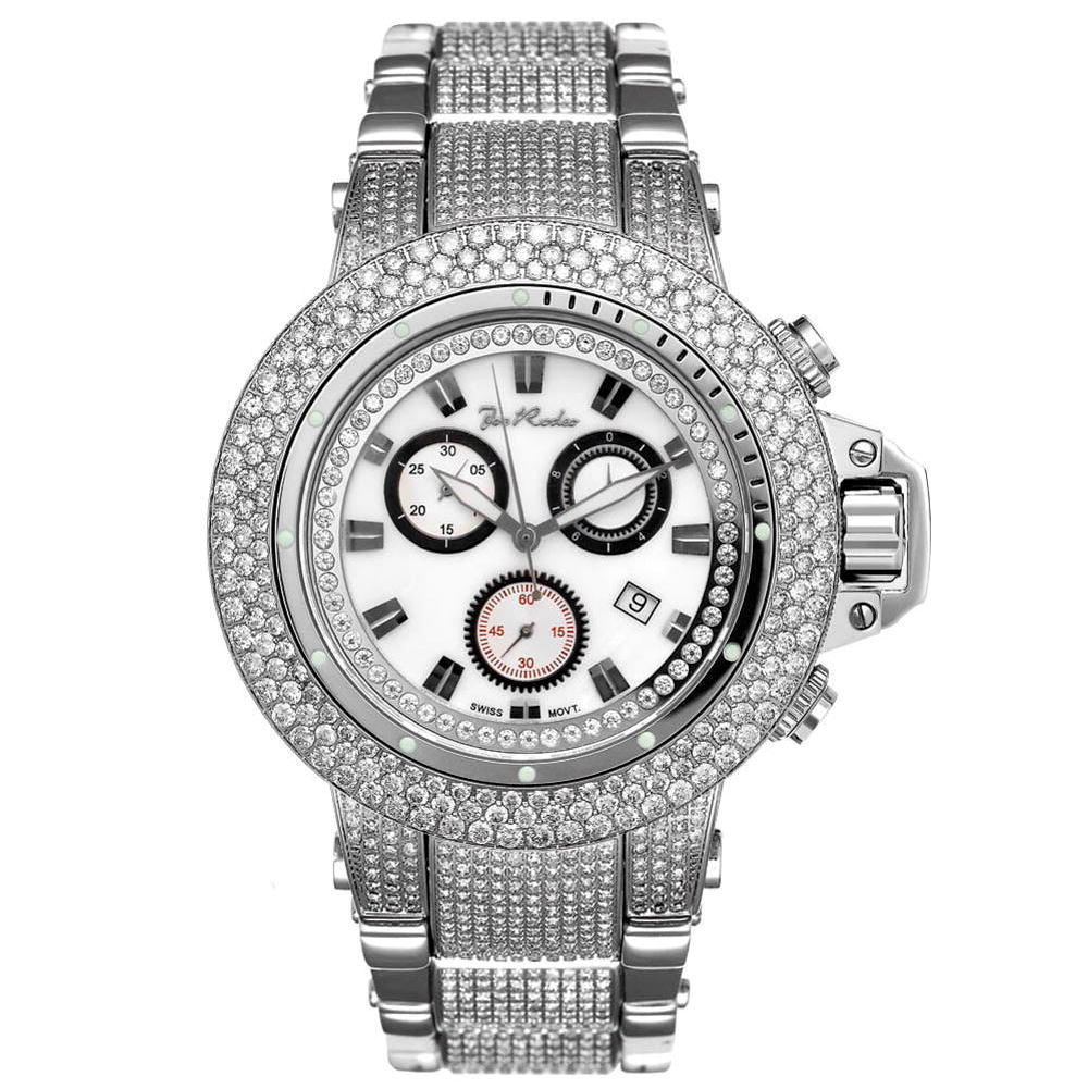 Iced Out Watches Joe Rodeo Razor Diamond Watch 24ct Main Image