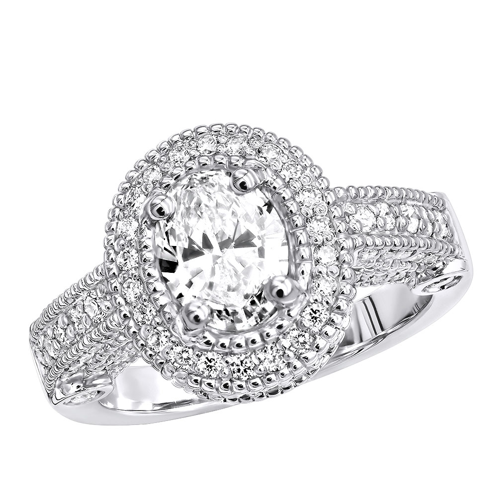 Diamond Platinum Engagement Ring 2ct Main Image