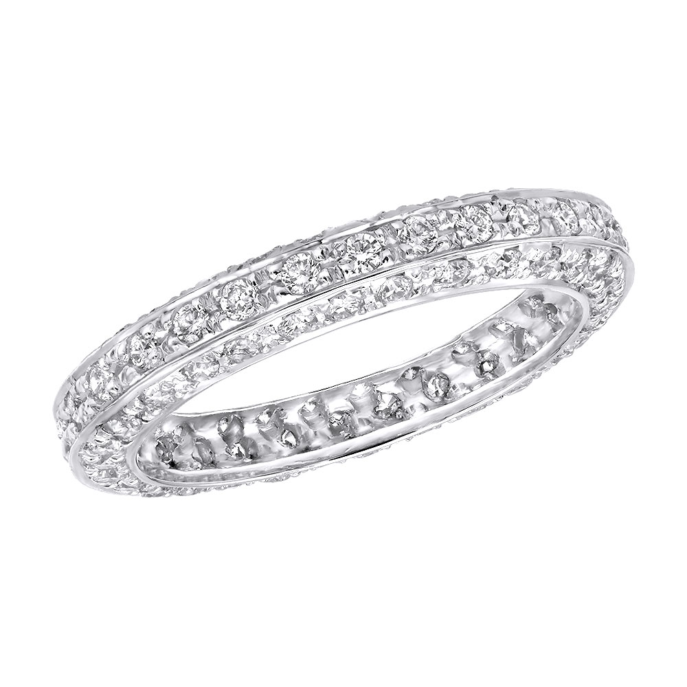 Platinum Diamond Eternity Band 0.90ct