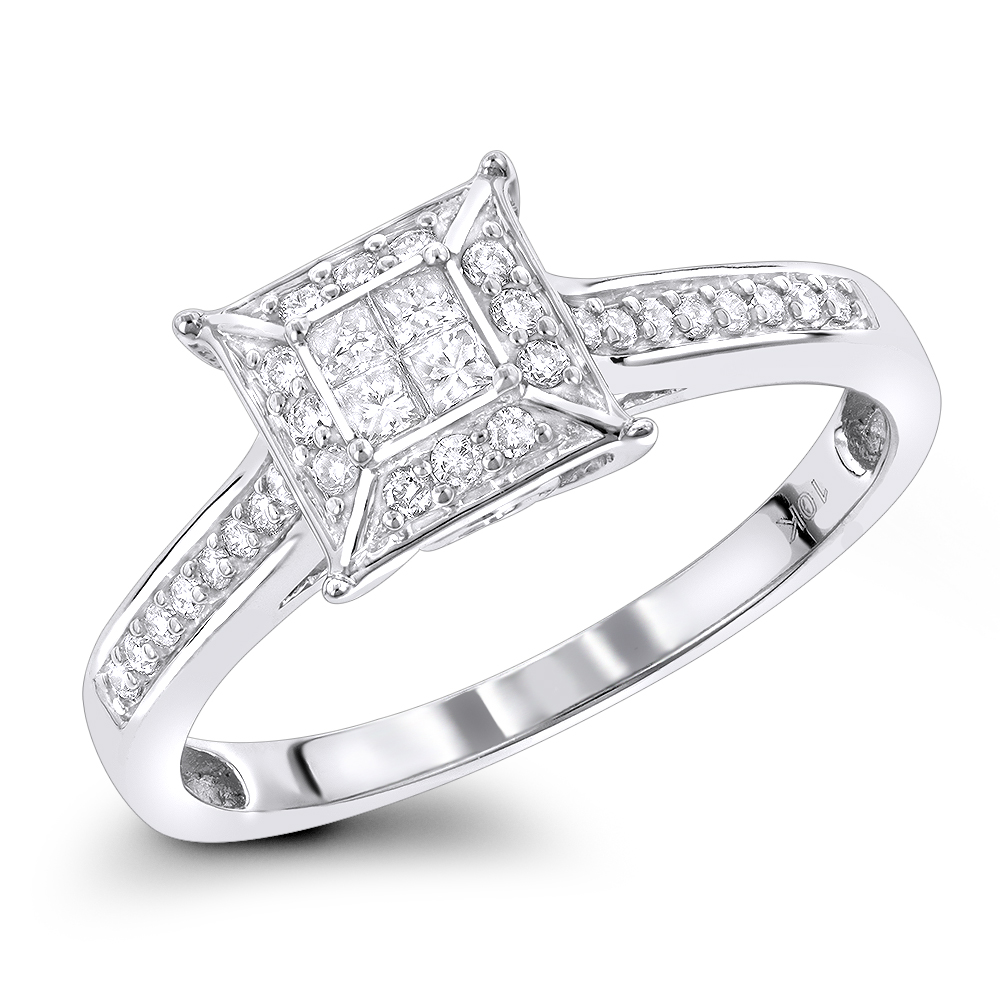 pre engagement rings diamond promise ring 10k. Black Bedroom Furniture Sets. Home Design Ideas