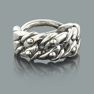 Sterling Silver Jewelry Designer Ring Made in New York