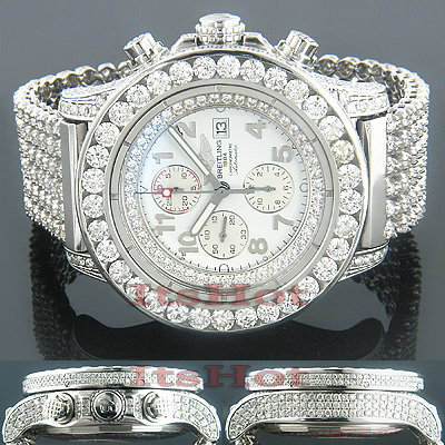 Breitling Bentley Iced Out Replica