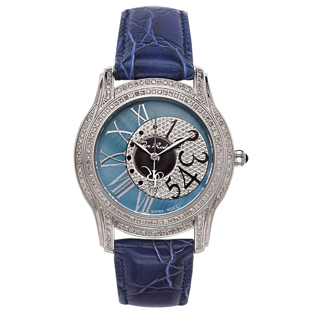 Joe Rodeo Beverly Ladies Diamond Watch 1.35ct Blue Main Image