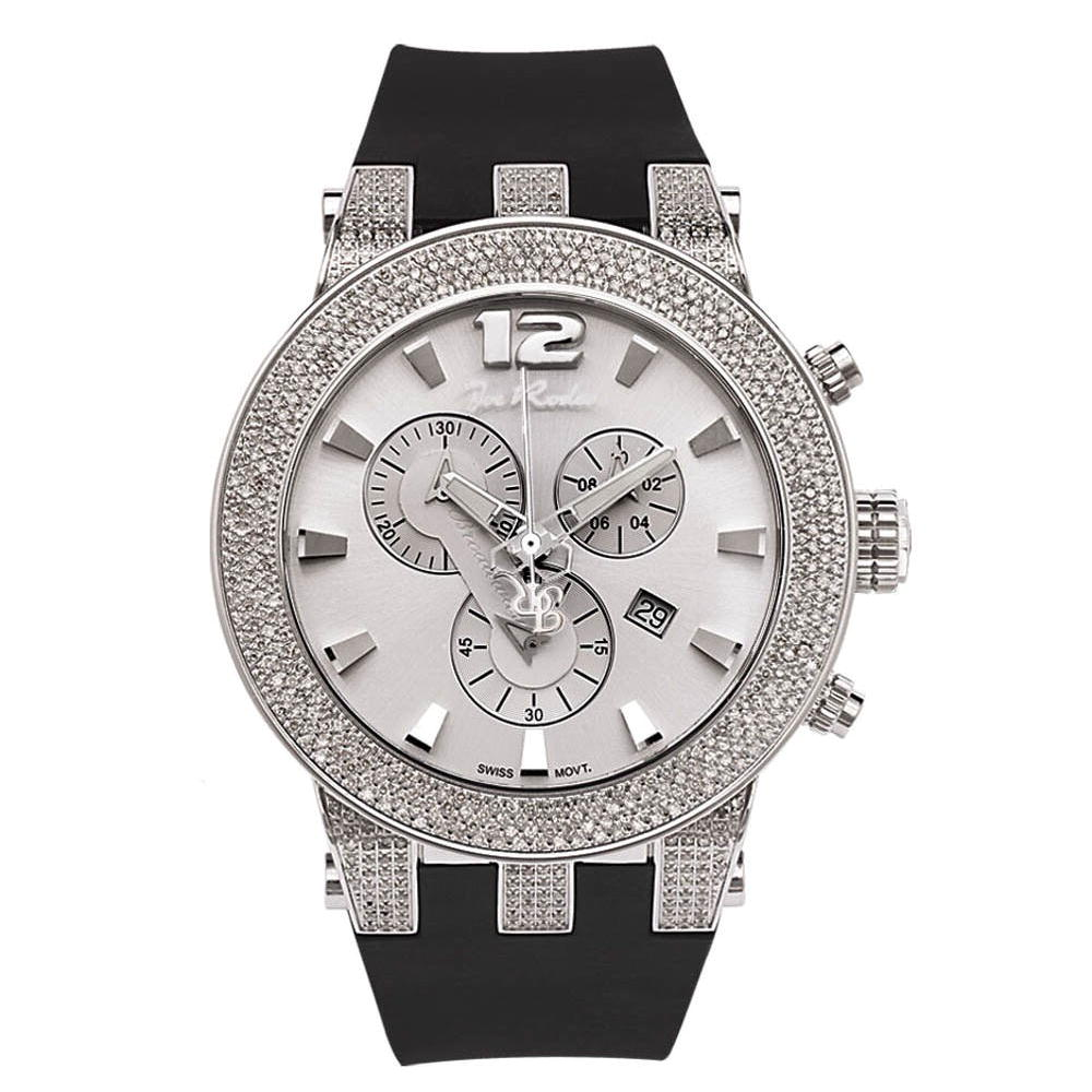 Joe Rodeo Broadway Mens Diamond Watch 5ct Main Image