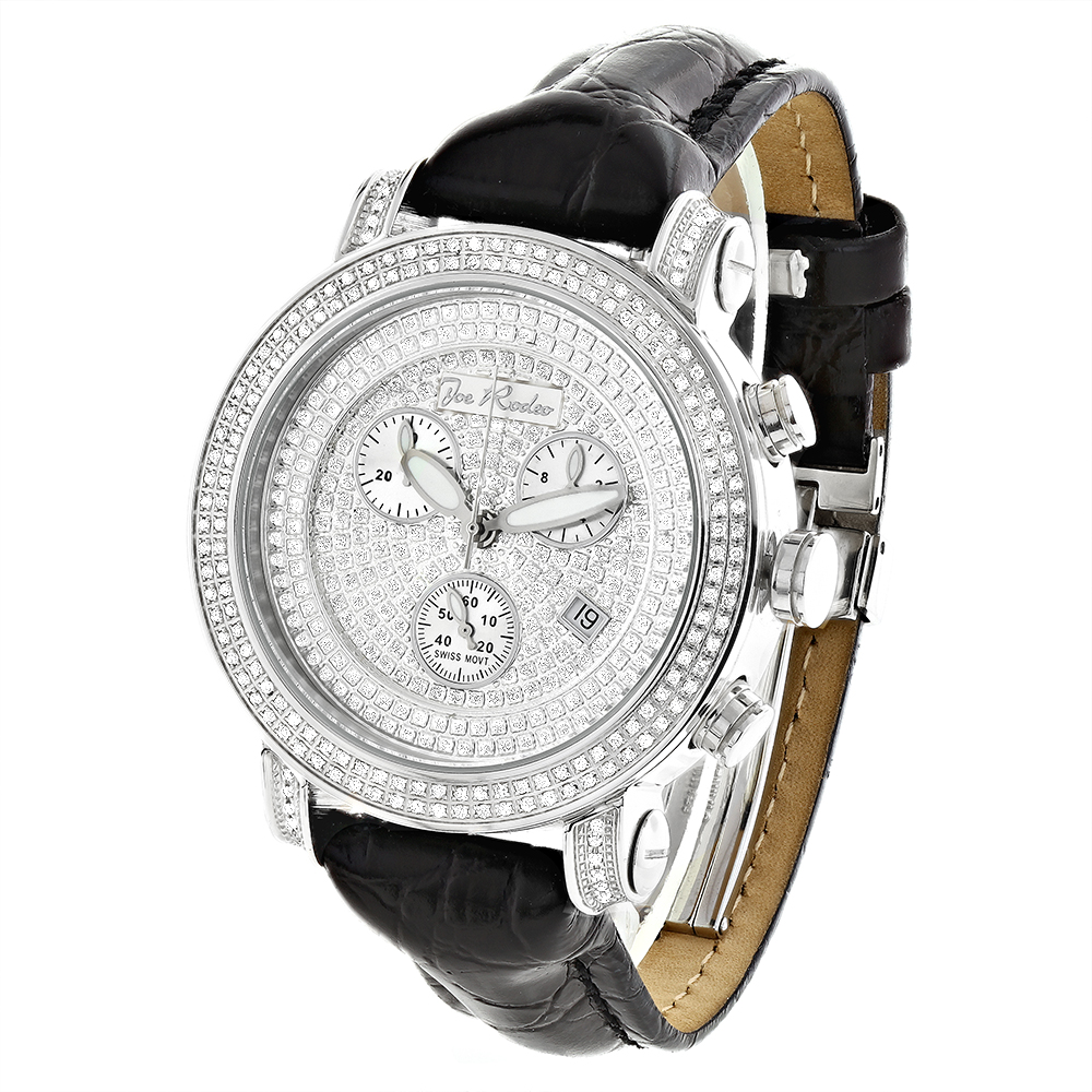 Joe Rodeo Classic Mens Diamond Watch 1.75ct Main Image